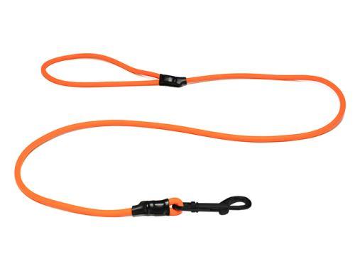 Biothane_round_leash_with_HG_neon_orange_black_snap_hook_small_web
