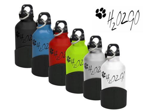 Praktická 350 ml fľaša na vodu