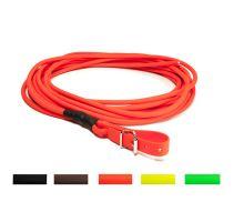 Mystique® Biothane farbiarska šnúra guľatá 8mm