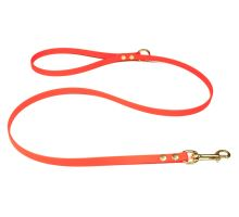 Biothane_leash_with_HG_13mm_solid_brass_neon_orange_small_web
