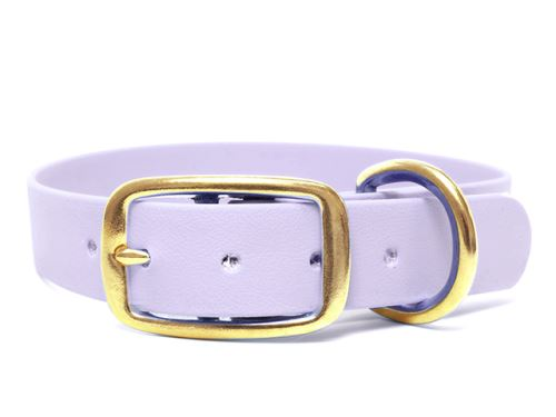 Biothane_collar_deluxe_brass_pastel_purple_small_web