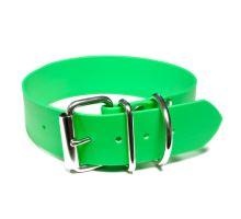 Mystique® Biothane obojok classic 38mm neon zelená 80-90cm