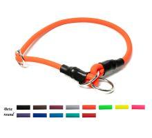 Mystique® Biothane collier rond avec corne 8mm