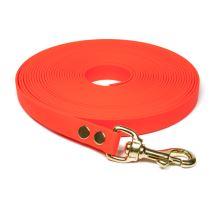 Biothane_tracking_leash_19mm_solid_brass_neon_orange_small_web