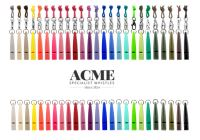 Acme - kompletná farebná škála jednotónových píšťaliek