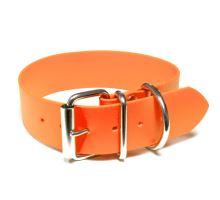Mystique® Biothane obojok classic 38mm neon oranžová 80-90cm