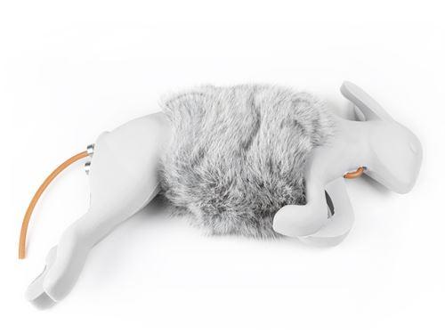Bunny rabbit dummy con pelliccia
