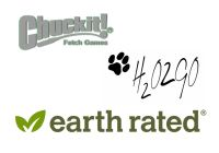 Chuckit!/H2O2GO/Earth Rated  - nové produkty