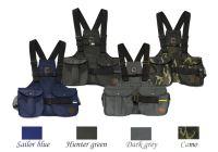 Mystique® Dummy vest Trainer bleu marin, vert de chasse, gris foncé et camouflage
