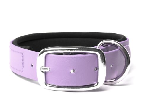 Biothane_collar_deluxe_neopren_pastel_purple_small_web