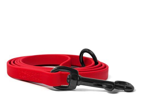 Biothane_leash_9_13mm_sewn_red_black_snap_hook_small_web