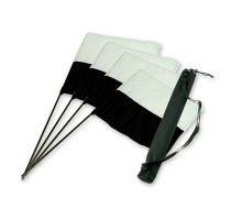 "Mystique® ""Bandiere da Marking Set nero/bianco 4pz.+ borsa"