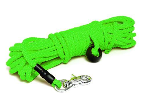 Mystique® Nylonové stopovacie vodítko guľaté 7mm v neon zelenej