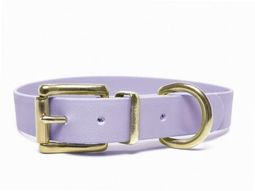 Biothane_collar_classic_brass_pastel_purple_small_web