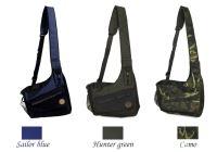 """Mystique® Dummy sac """"Profi Dynamic"""" bleu marin, vert de chasse et camouflage"""