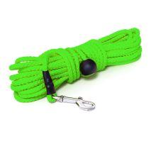 Mystique® Nylonové stopovacie vodítko guľaté 7mm neon zelená 5m