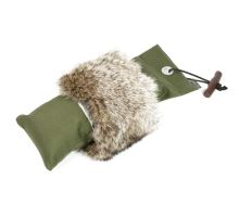 Mystique® Pointer Dummy khaki con pelliccia