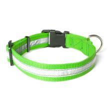 Mystique® Nylon collier profi réflexe 30mm neon vert 50-60cm